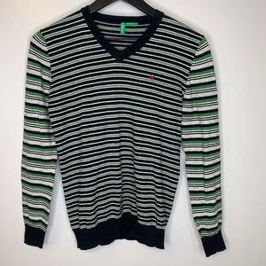 United Colors of Benetton Striped Pullover Sweater
